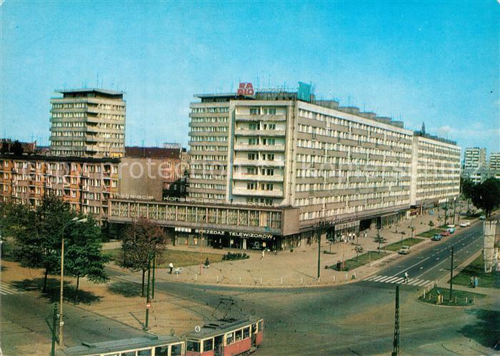 Szczecin_Stettin Aleja Wyzwolenia Szczecin_Stettin