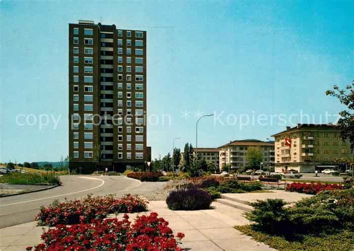 AK / Ansichtskarte Grenchen Hochhaus Grenchen