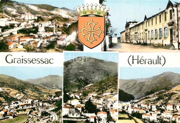 Graissessac Vue partielle Graissessac