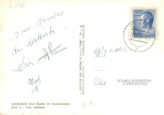 Diekirch Grand Duche de Luxemburg Vue aerienne Diekirch 1