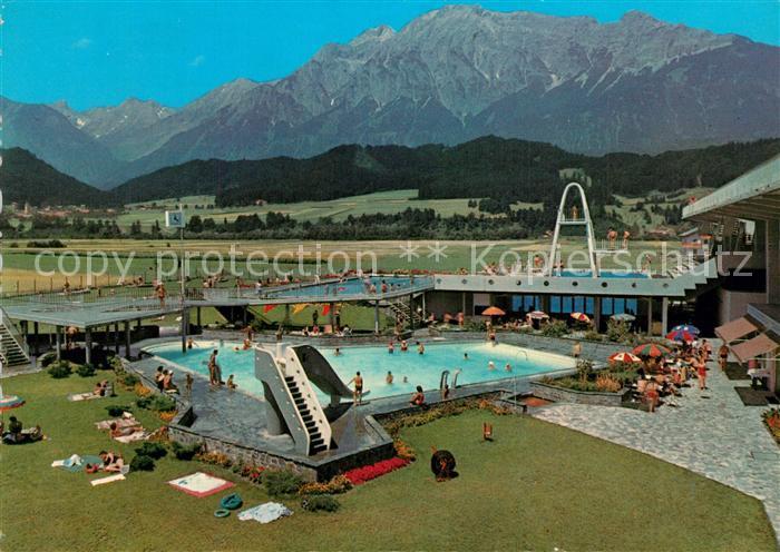 AK / Ansichtskarte Wattens Alpenbad Panorama Wattens 0