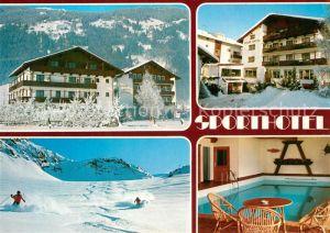 AK / Ansichtskarte Zell_Ziller_Tirol Sporthotel Hallenbad Wintersport Zillertaler Alpen Zell_Ziller_Tirol