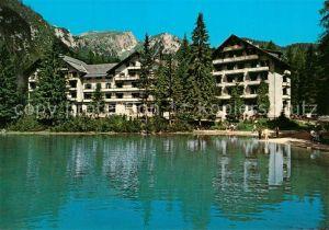 Prags Hotel Lago di Braies Val Pustera Hotel Pragser Wildsee Pustertal Prags
