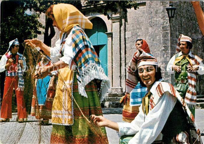Malta Maltese Folklore Costumes Malta