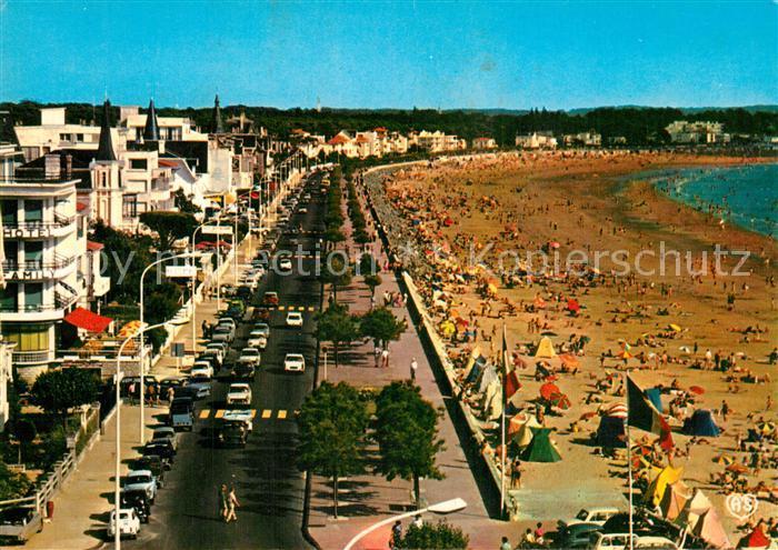 Royan_Charente Maritime Panorama La Grande Conche Plage Royan Charente Maritime