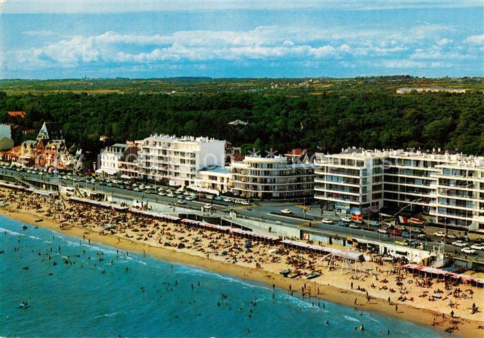 La_Baule_Atlantique Les Pins Boulevard de l Ocean Plage Hotels vue aerienne La_Baule_Atlantique