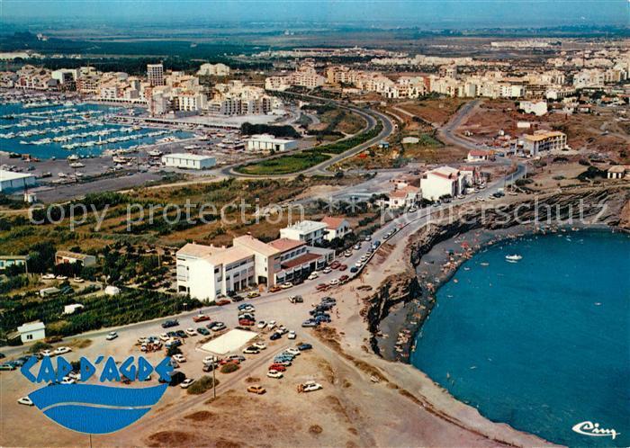 Cap d_Agde La Grande Conque vue aerienne Cap d_Agde