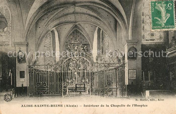 Alise Sainte Reine Chapelle de l`Hospice Alise Sainte Reine