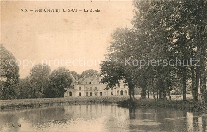 Cour Cheverny La Borde Cour Cheverny