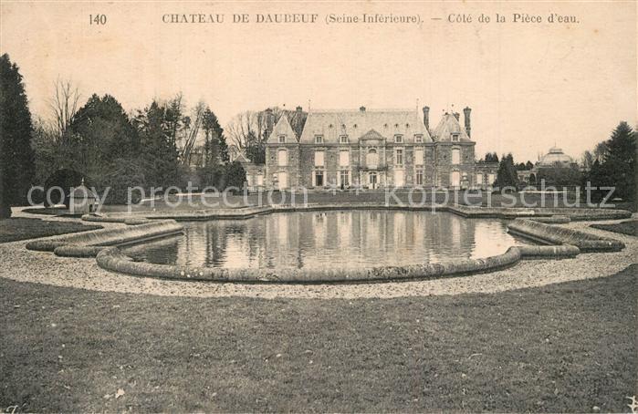 Daubeuf Serville Chateau  Daubeuf Serville