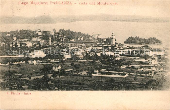Pallanza Vista dal Monterosso Pallanza