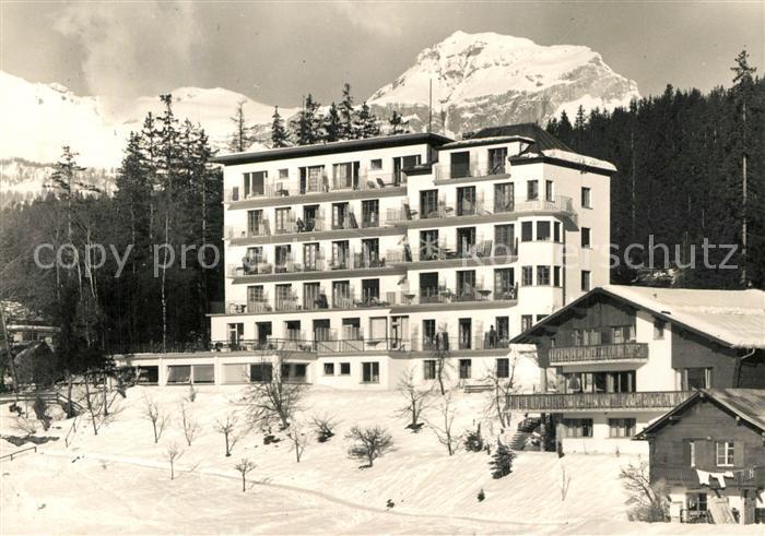 AK / Ansichtskarte Crans sur Sierre Hotel Eden Crans sur Sierre