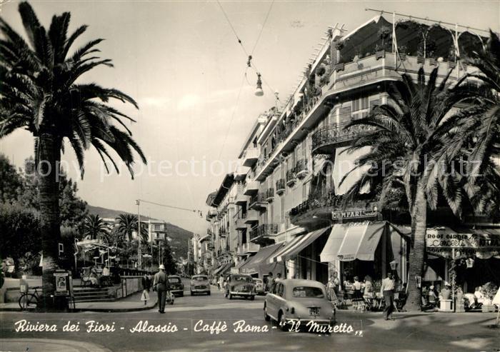 Alassio Caffe Roma Il Muretto Alassio