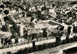 Angers Le Chateau du Roi Rene Vue aerienne Angers