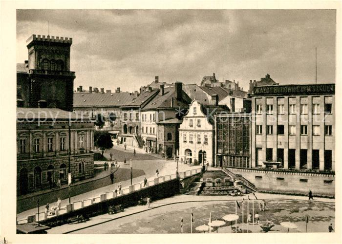Bielsko Biala Plac Boleslawa Chrobrego Bielsko Biala