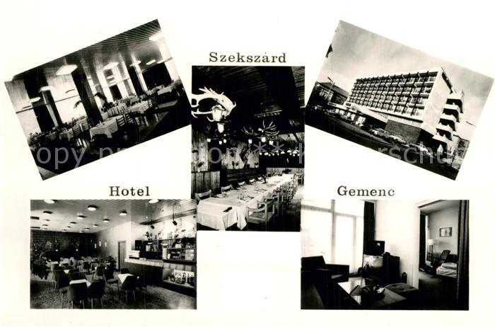Szekszard Hotel Gemenc Gastraeume Zimmer Szekszard