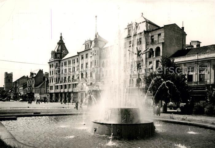 Debrecen_Debrezin Hotel Arany Bika Fontaene Debrecen Debrezin