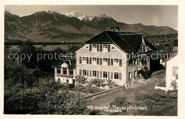 AK / Ansichtskarte Vorarlberg Gasthof Traube Vorarlberg