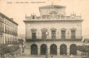 Irun Plaza San Juan Casa Consistorial Irun