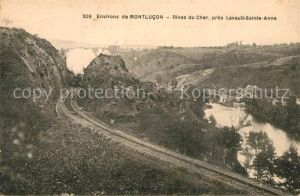 Montlucon Rives du Cher pres Lavault Sainte Anne Montlucon
