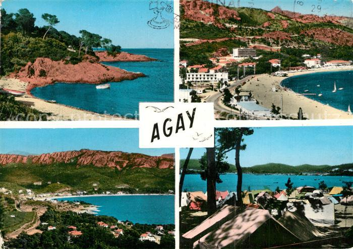 Agay_Var Panorama Corniche d Or Plage Camping Cote d Azur Agay_Var