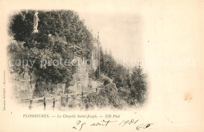 Plombieres les Bains_Vosges Chapelle Saint Joseph Plombieres les Bains