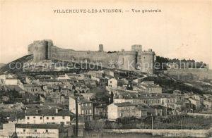Villeneuve les Avignon Vue generale Chateau Villeneuve les Avignon