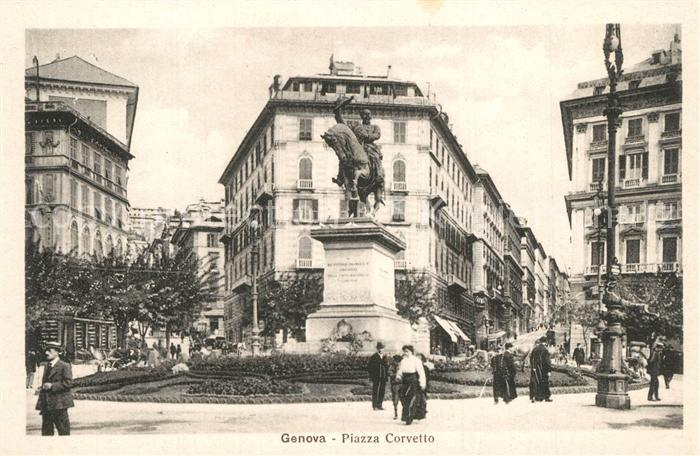 Genova_Genua_Liguria Piazza Corvetto Genova_Genua_Liguria