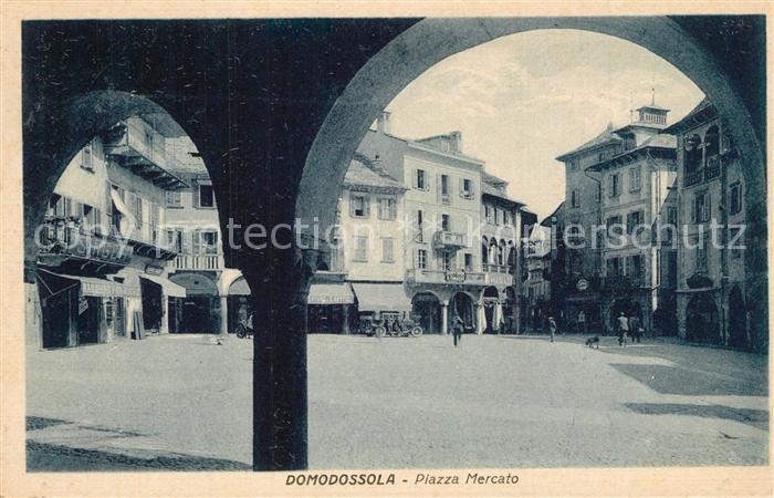 Domodossola Piazza Mercato Domodossola