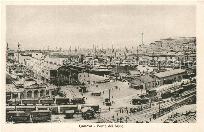 Genova_Genua_Liguria Ponte dei Mille  Genova_Genua_Liguria