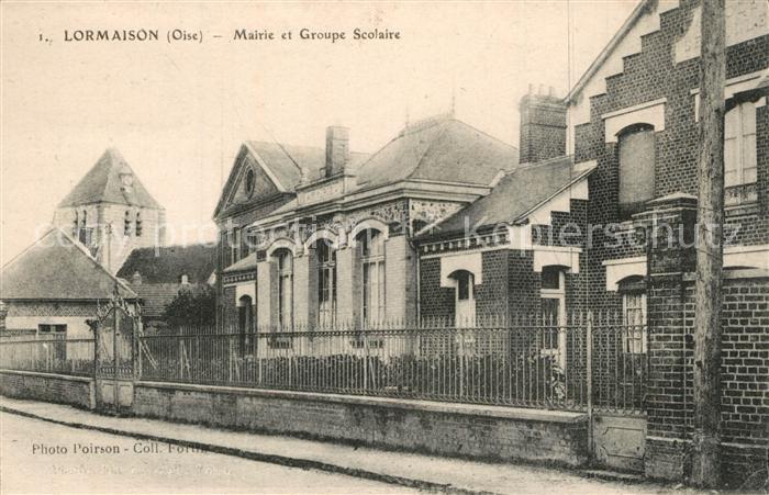 Lormaison Mairie et Groupe Scolaire Lormaison