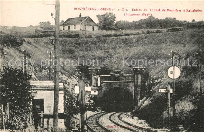 Bonnieres sur Seine Entree du Tunnel de Bonnieres a Rolleboire Bonnieres sur Seine