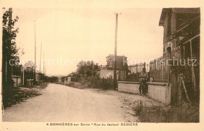 Bonnieres sur Seine Rue du decteur Rebiere Bonnieres sur Seine