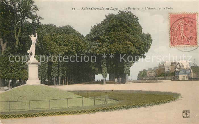 Saint Germain en Laye Le Parterre l Amour et la Folie Saint Germain en Laye
