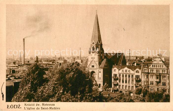 Lodz Kosciol sw. Mateusza Eglise de Saint Mathieu Lodz