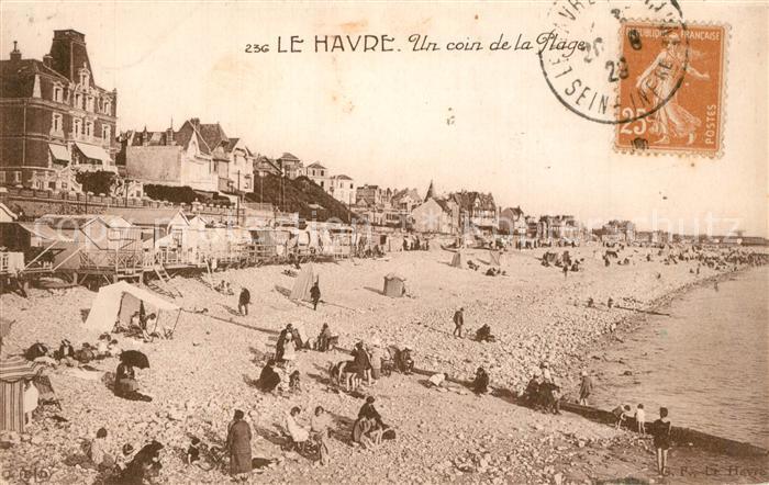 Le_Havre Un coin de la plage Le_Havre