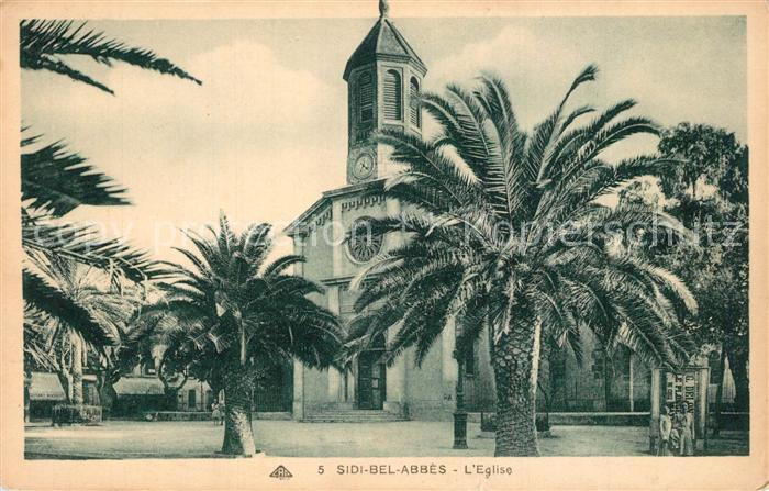 Sidi Bel Abbes Eglise Kirche Sidi Bel Abbes