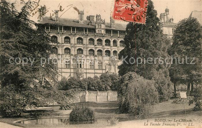 Blois_Loir_et_Cher Chateau Schloss Blois_Loir_et_Cher
