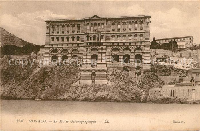 Monaco Musee Oceanographique Museum Monaco
