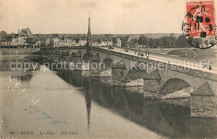 Blois_Loir_et_Cher Le Pont Blois_Loir_et_Cher