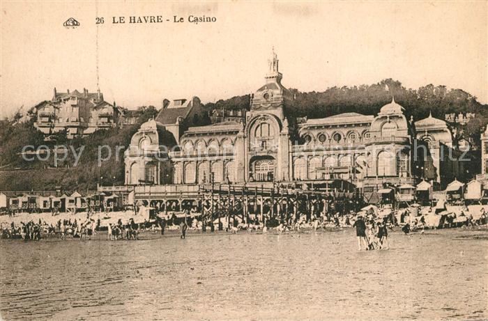 Le_Havre Casino vu de la plage Le_Havre