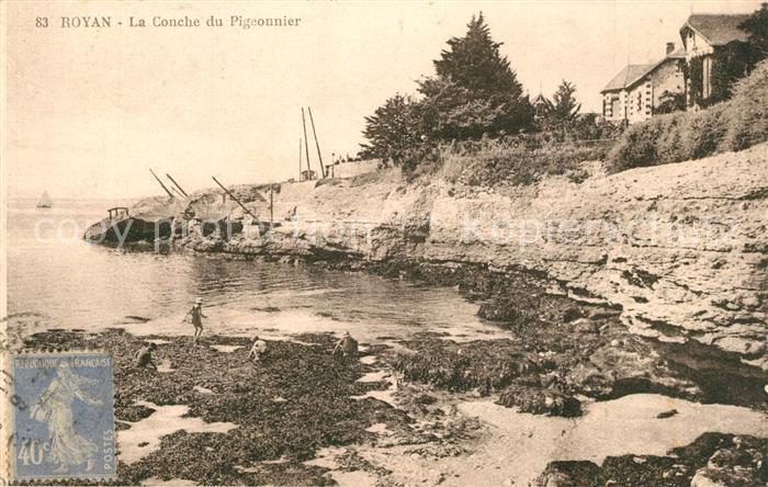 Royan_Charente Maritime La Conche du Pigeonnier Royan Charente Maritime