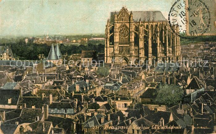 Beauvais Vue sur la Cathedrale Beauvais
