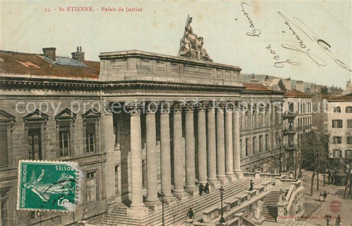 Saint Etienne_Loire Palais de Justice Saint Etienne Loire