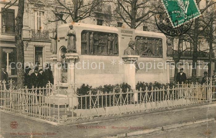 Saint Etienne_Loire Monument Jacquard Saint Etienne Loire
