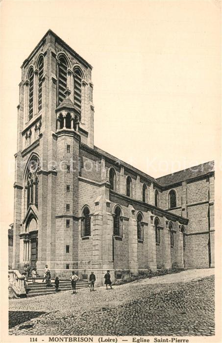 Montbrison_Loire Eglise Saint Pierre Montbrison Loire