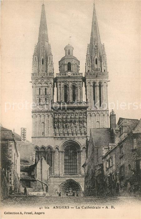 Angers La Cathedrale Angers