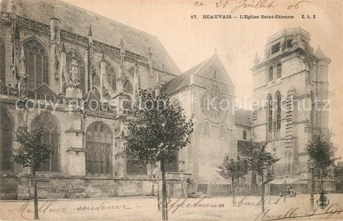 Beauvais Eglise Saint Etienne Beauvais