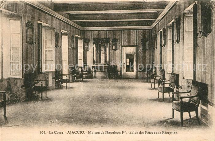 Ajaccio Maison de Napoleon Ier Salon des Fetes et de Reception Ajaccio