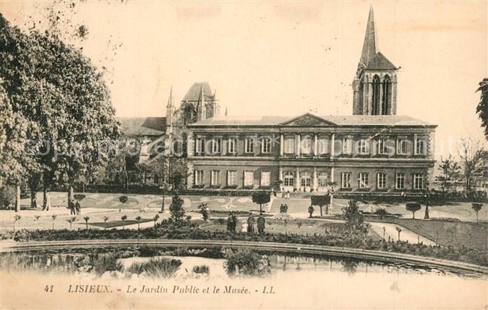 Lisieux Jardin Public et le Musee Lisieux